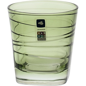Leonardo Whiskybecher Vario Struttura verde 0,25 L