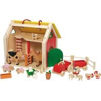 GoKi Farmhaus Koffer mit Zubehör (51916)