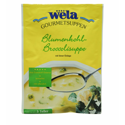 Blumenkohl-Broccolisuppe 3 Teller - wela