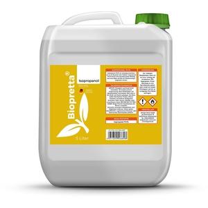 Biopretta Isopropanol 99,9% in 5000ml IPA Entferner Entfetter Reiniger
