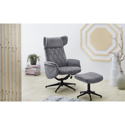 Pro.Com Relax-Chair Verona in grau