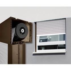 SCHELLENBERG Aufsatzrollladen, Aluminium, für Roro-Fenster 90 cm x 120 cm