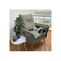 Sesselschoner für Relaxsessel Insideout PLACE TO BE. PLACE TO BE., Sesselschonbezug Complete für Relaxsessel Insideout gr�n