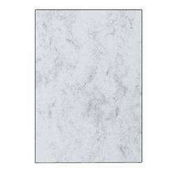 SIGEL Briefpapier Marmor grau DIN A4 200 g/qm 50 Blatt