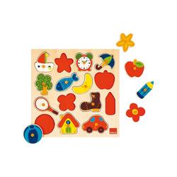 Goula Steckpuzzle GOULA 53023 Holzpuzzle, Puzzleteile