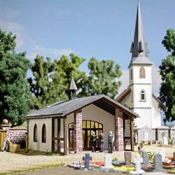 Busch 1566 H0 Friedhofskapelle/Trauerhalle
