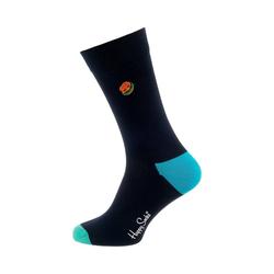 Happy Socks Socken 1er Pack Embroidery Burger Sock Socken 36-40