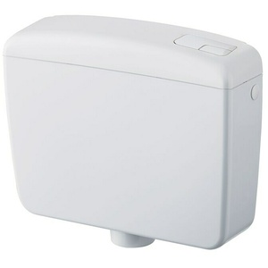 Spülkasten Compact  (Weiß, Spülmenge: 3-7 l, 12,5 x 44 x 34,5 cm)