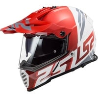 LS2 MX436 Pioneer Evo Red/White