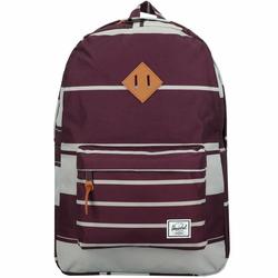 Herschel Heritage Plecak 47 cm przegroda na laptopa prep stripe blackberry wine