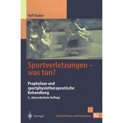 Sportverletzungen - was tun?: eBook von Rolf Haaker