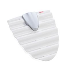 LEIFHEIT Omega Gürtelhalter, Gürtelhalter, bis zu 12 Gürtel platzsparend aufbewahren, 1 Stück