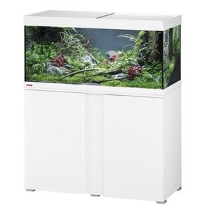EHEIM vivaline 180 LED Aquarium mit Unterschrank eiche grau