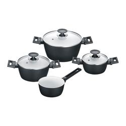 Berndes Topf-Set Alu Induction Smart 7-tlg., Aluminium