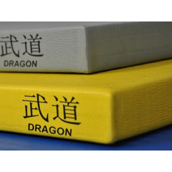 Judomatte DRAGON 100x100x4 cm RG230 (Farbe: Gelb)