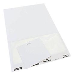 DURABLE Besucherausweis Weiß Querformat 97 x 86mm 825802 100 Stück