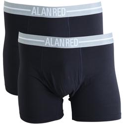 Alan Red Boxershorts Navy 2er-Pack - Blau Größe M