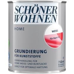 SCHÖNER WOHNEN FARBE Lack Home Grundierung, für Kunststoffe weiß