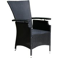 Famous Home Relaxsessel 60 x 65 x 103 cm schwarz 2 Stück