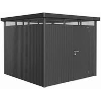 2,75 x 2,75 m dunkelgrau-metallic Einzeltür