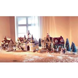 Home affaire Weihnachtsdorf, mit Lichterkette