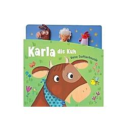 Karla die Kuh  Fingerpuppenbuch m. 3 Fingerpuppen - Buch