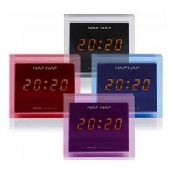 NafNaf Crystal Uhrenradio - blau
