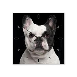 ImageLand Wanduhr Französische Bulldogge
