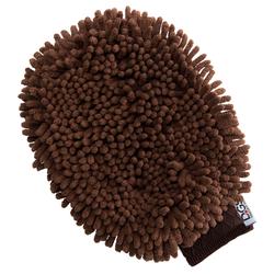 Fellpflege-Handschuh Dirty Dog Grooming Mitt braun, Maße: ca. 26 x 20 cm