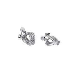 Lotus Style Paar Ohrhänger JLS1709-4-1 Lotus Style Ohrringe silber LS1709-4/1 (Ohrhänger), für Damen aus Edelstahl (Stainless Steel)