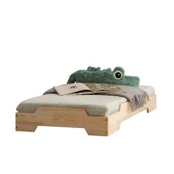 Łóżko Hallie dziecięce z drewna