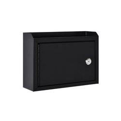 HOMCOM Briefkasten Briefkasten mit Sicherheitsschloss
