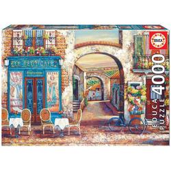 Educa Puzzle LE PETIT CAFÉ, 4000 Puzzleteile