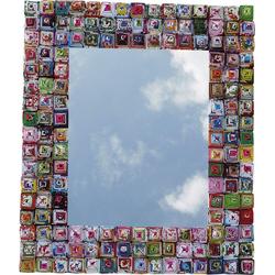 Guru-Shop Dekospiegel Spiegel aus Recyclingpapier - rechteckig