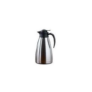"""Esmeyer Isolierkanne """"Thermoart"""", 1,5 Liter, Edelstahl innen und außen komplett aus mattiertem Edelstahl (290-071)"""