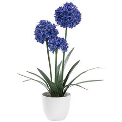 Kunstblume, Kunstpflanzen, 42182249-0 bunt H: 10 cm bunt