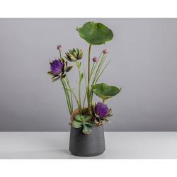 Kunstblume Oh la la, Blütenwerk, Höhe 75 cm