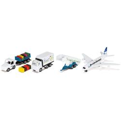 Siku Spielzeug-Flugzeug SIKU Super, Flughafen, (Set, 6-tlg)