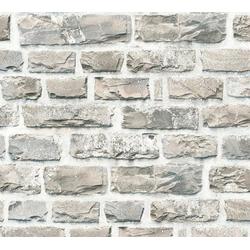 living walls Vliestapete Neue Bude 2.0, Steinoptik, Naturstein bunt