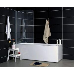 Badewannenaufsatz aus Sicherheitsglas Klarglas 1400 x 650 mm Glasstärke 5 mm