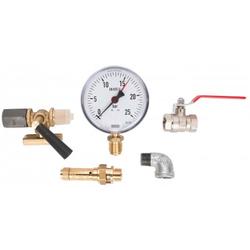Aircraft Grundarmaturensatz für Druckluftkessel bis 750 l, 16 bar - Armaturensatz