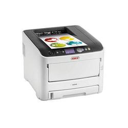OKI C612n Farb-Laserdrucker grau