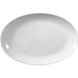 Seltmann Weiden 001.216207 RONDO - Platte - Servierplatte - oval - weiß Ø 31 cm