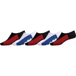 Socken GLOBE - Invisible Sock 5 Pack Black/White (BLK-WHT)