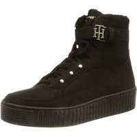 Tommy Hilfiger Warmlined Lace Up Boot in Schwarz,