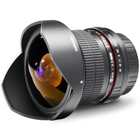 Walimex Pro Fish-Eye-Objektiv Fish-Eye II f/1 - 3.5 8mm