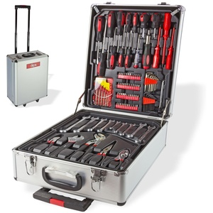Alu Werkzeugkoffer Trolley mit 251-tlg. Werkzeug Set
