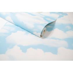 Vliestapete Wolken, (1 St), Mehrfarbig - 10m x 52cm