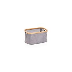 HTI-Living Aufbewahrungsbox Aufbewahrungskorb Bambus (1 Stück), Aufbewahrungskorb 20 cm x 16 cm x 29.5 cm