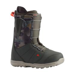 Burton - Moto Dark Green/Camo - Herren Snowboard Boots - Größe: 10 US